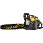 Poulan Pro Chainsaw — 20in. Bar, 50cc, 3/8in. Pitch, Model# PR5020