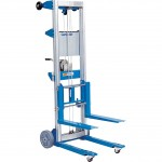 Genie Material Lift with Straddle Base, 5ft.11in. Lift — 500-Lb. Capacity, Model# GL4