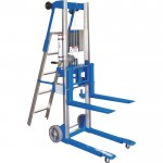 Genie GL-4 Material Lift with Ladder — 500-Lb. Capacity, Model# GL-4 W/LADDER OPTION