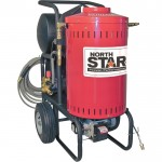 NorthStar Electric Wet Steam & Hot Water Pressure Washer — 1700 PSI, 1.5 GPM, 115 Volt