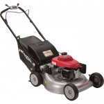 Honda Self-Propelled Push Lawn Mower — 160cc Honda GCV Engine, 21in. Deck, Model# HRR216K9VKA