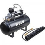 WOLO Air Rage Heavy-Duty Compressor with 5-Gal. Tank — 22 Amps, Model# 860
