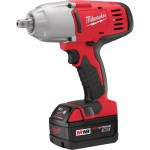 Milwaukee M18 Cordless Impact Wrench — 1/2in., 18 Volt, Detent Pin Anvil, Model# 2662-22
