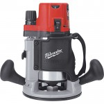 Milwaukee 2 1/4 HP Router — Electronic Variable Speed BodyGrip, Model# 5616-20