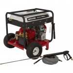 NorthStar Gas Cold Water Pressure Washer — 4.5 GPM, 4000 PSI, Electric Start, Belt Drive, Model# 1572081