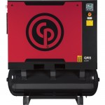 Chicago Pneumatic Quiet Rotary Screw Air Compressor with Dryer — 20 HP, 230 Volts, 3 Phase, Model# QRS20HPD