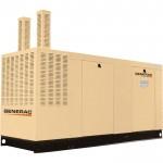 Generac Commercial Series Liquid-Cooled Standby Generator — 130 kW, 120/208 Volts, NG, Model# QT13068GNAC