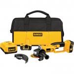 DEWALT Cordless Cutoff Tool Kit — 18 Volt, 4 1/2in., Model# DCG411KL