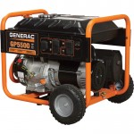Generac GP5500 Portable Generator — 6875 Surge Watts, 5500 Rated Watts, Model# 5939