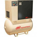 Ingersoll Rand Rotary Screw Compressor — 230 Volts, Single Phase, 5 HP, 18.5 CFM, Model# UP6-5-125
