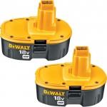 DEWALT 18V XRP Battery Combo Pack, Model# DC9096-2