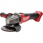 Milwaukee M18 FUEL 4 1/2in./5in. Grinder — Tool Only, Slide Switch, Lock-On, Model# 2781-20