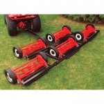 Pro Mow 5 Gang Reel Mower — 8ft. 1in. Cutting Width, Model# G0501
