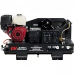 Campbell Hausfeld 2-in-1 Air Compressor/Generator with Honda Engine — Model# GR2100