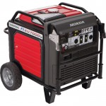 Honda EU7000IS Portable Inverter Generator — 7000 Surge Watts, 5500 Rated Watts, Electric Start, CARB-Compliant, Model# EU7000IS