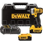 DEWALT 20V MAX XR Premium Lithium-Ion Impact Wrench Kit — 20 Volt, 3/8in. Drive, Model# DCF883M2