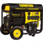 Champion Power Equipment Portable Generator — 9375 Surge Watts, 7500 Rated Watts, Remote Electric Start, Model# 100161