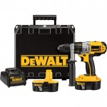 DEWALT Cordless Hammerdrill — 18 Volt, XRP, 1/2in. Chuck, Model# DCD950KX