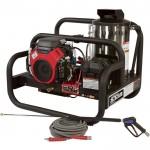 NorthStar Gas Hot Water Pressure Washer Skid — 4,000 PSI, 4.0 GPM, Honda Engine