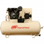 Ingersoll Rand Type-30 Reciprocating Air Compressor (Dual Stage, Fully Packaged) — 10 HP, 230 Volt, 3 Phase, Model# 2545E10-VP