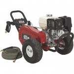 NorthStar Super High Flow Gas Cold Water Pressure Washer — 5.0 GPM, 3000 PSI, Honda Engine, Belt Drive, Model# 1572042