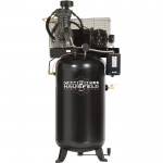 Campbell Hausfeld Fully Packaged Air Compressor — 5 HP, 16.6 CFM @ 175 PSI, 230 Volt Single Phase, Model# CE7050FP