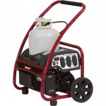 Powermate Portable Propane Generator — 4050 Surge Watts, 3250 Rated Watts, Model# PM0133250