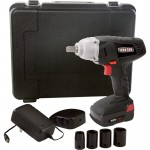 Ironton 18 Volt Lithium-Ion Impact Wrench — 1/2in. Anvil with Detent Pin