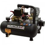 NorthStar Portable Electric Air Compressor — 3/4 HP, 1-Gallon Hot Dog, 1.3 CFM