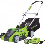 GreenWorks G-MAX 40V Cordless Lawn Mower — 16in. Deck, Model# 25322