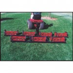 Pro Mow 7 Gang Reel Finish Cut Mower — 9ft. 8in. Cutting Width, Model# PO701