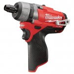 Milwaukee M12 FUEL Cordless Screwdriver — Tool Only, 1/4in. Hex, 2-Speed, 12 Volt, Model# 2402-20