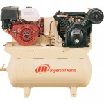 Ingersoll Rand 24 CFM @ 175 PSI, 13 HP Horizontal Air Compressor with Alternator, Model# 2475F13GH