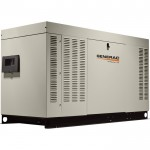 Generac QuietSource Series Liquid-Cooled Home Standby Generator — 48 kW (LP)/48 kW NG, Model# RG04854ANAC