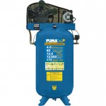 Puma Belt-Drive Stationary Vertical Air Compressor — 80-Gallon Vertical, 5 HP, 14.5 CFM, Model# TE6580V
