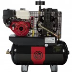 Chicago Pneumatic Gas-Powered Air Compressor — 11 HP, 30 Gallon, Model# RCP-1130G HONDA