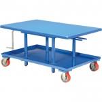Vestil Mechanical Post Table — 48in.L x 30in.W, Low Profile, Model# MT-3048-LP