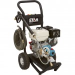 NorthStar Gas Cold Water Pressure Washer — 3300 PSI, 3.0 GPM, Honda Engine, Model# 15781820