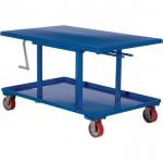 Vestil Mechanical Post Table — 48in.L x 30in.W, High Profile, Model# MT-3048-HP