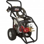 NorthStar Super High Flow Gas Cold Water Pressure Washer — 3000 PSI, 5.0 GPM, Honda Engine, Model# 15782030