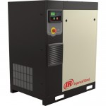 Ingersoll Rand Rotary Screw Compressor — Total Air System, 15 HP, 200 Volt/3-Phase, 53.9 CFM @ 115 PSI, 80-Gallon Tank, Model# 48670830