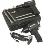 Klutch 3-Pc. Air Tool Kit — 1/2in. Drive Air Impact Wrench, 3in. Air Cutoff Tool, Air Hammer
