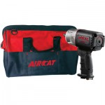 AirCat Composite Air Impact Wrench — 1/2in. Drive, 8 CFM, 1,295 Ft.-Lbs. Torque, FREE Tool Bag, Model# 1150