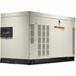 Generac Liquid-Cooled Home Standby Generator — 25 kW (LP)/25 kW (NG), Model# RG02515ANAX