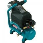 Makita Portable Electric Air Compressor — 2 HP, 2.6-Gallon Hot Dog, 3.3 CFM, Model# MAC700