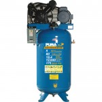 Puma Belt-Drive Stationary Vertical Air Compressor — 80-Gallon Vertical, 5 HP, 18.4 CFM, Model# TN5080VM