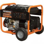 Generac GP6500E Portable Generator — 8125 Surge Watts, 6500 Rated Watts, Electric Start, Model# 5941