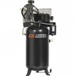 Campbell Hausfeld Fully Packaged Air Compressor — 5 HP, 16.6 CFM @ 175 PSI, 208-230/460 Volt Three Phase, Model# CE7051FP