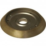 Darex Replacement Borazon Electroplated Wheel — 180 Grit, Model# PP16050GF