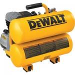 DEWALT Twin Stack Portable Electric Air Compressor — 1.1 HP, 4-Gallon, 4.0 CFM, Model# D55153